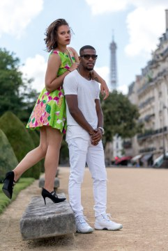robe verte au contraire de la mode