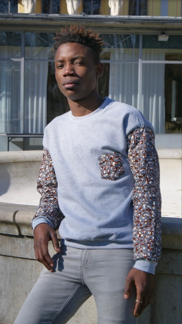 sweat gris mixte by renko